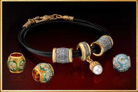 Православные браслеты из серебра с молитвой