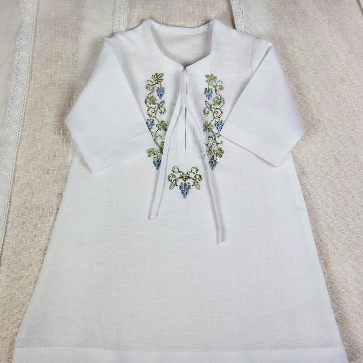 Крестильная рубашка своими руками фото